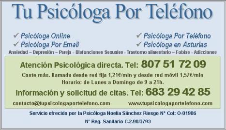 pie página psicólogo online y por teléfono